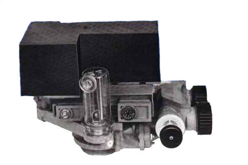 Autotrol 1550-TC valve side view