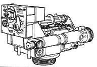 Autotrol 163 or 168 Valve side view