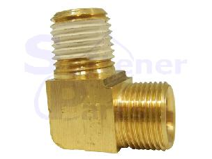 Elbow Fitting Brass for 1600 Injector Housing 10328