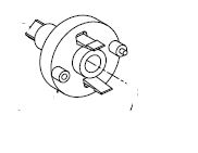Gear, Main Drive for 3100 Immediate timer, PN 15055