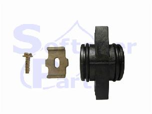 Adapter Coupling - One complete with clips 19228-01