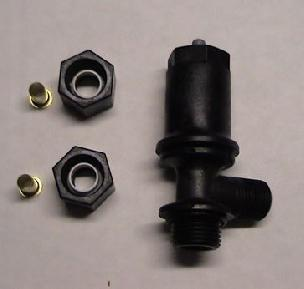 Brine Valve Piston Assembly 1650 Plastic