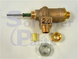 Brine Valve Piston Assembly 9500 Valve 1700 Series with 2 gpm  60039