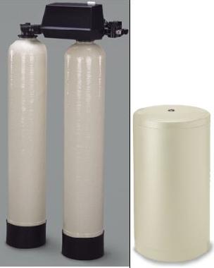 9100 Softener Twin Tanks 48K each tank