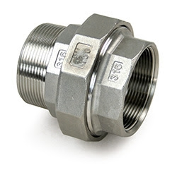 Union Stainless Steel 44022 , FL10M-SS-UNION M x F 1 inch