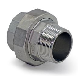 Union Stainless Steel 44024 , FL15M-SS-UNION M x F 1 1/2 inch