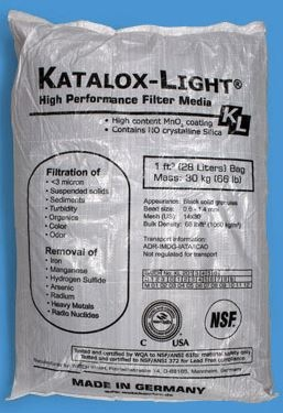 Katalox Light for Sulfide, Iron and Manganese Reduction 1/2 cu.ft
