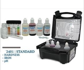 Hardness Drops with Iron and pH levels - Test Kit Professional Method