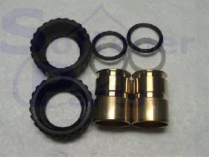 Fitting 1 Inch Brass Sweat for Clack WS1 Valve pn V3007-02